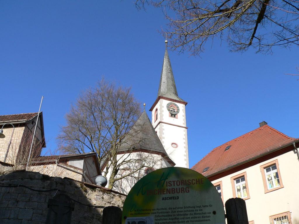 Ein Erlebnis für alle Enerationen: die historische Kirchenburg von Aschfeld im Landkreis Main-Spessart. | Foto: B. Schneider