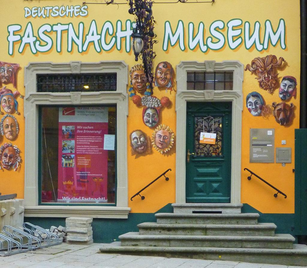 Deutsches Fastnachtmuseum in der Luitpoldstraße in Kitzingen | Foto: B. Schneider