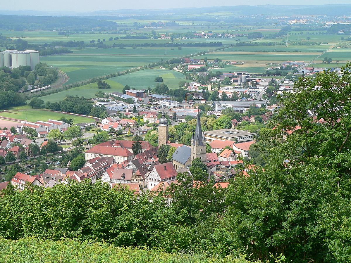 Zeil a. Main besitzt seit 1379 Stadtrecht. Nach Jahren als blühender Industriestandort in der zweiten Hälfte des 20. Jahrhunderts punktet die Kommune zwischen Haßberge und Steigerwald als heute attraktiver Wohnstandort. | Foto: B. Schneider