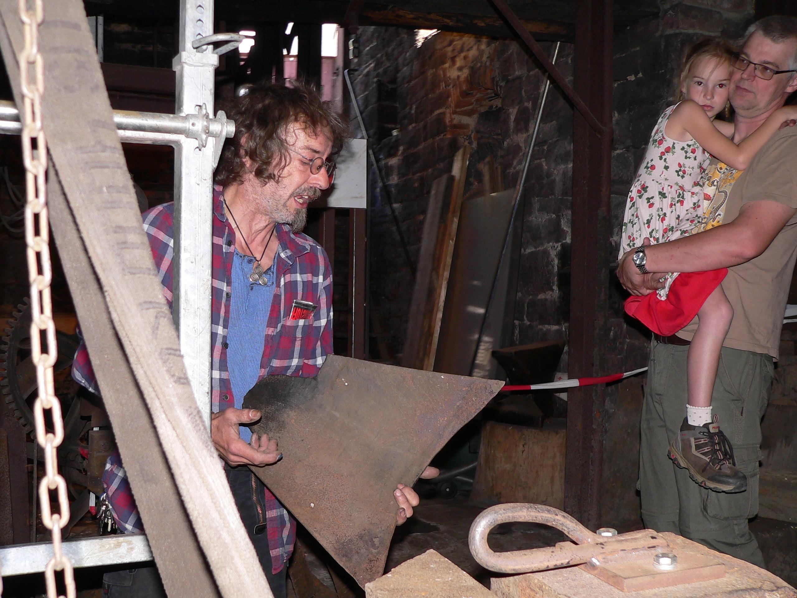 Pflugschare aus dem Haslocher Eisenhammer waren begehrt. | Foto: B. Schneider