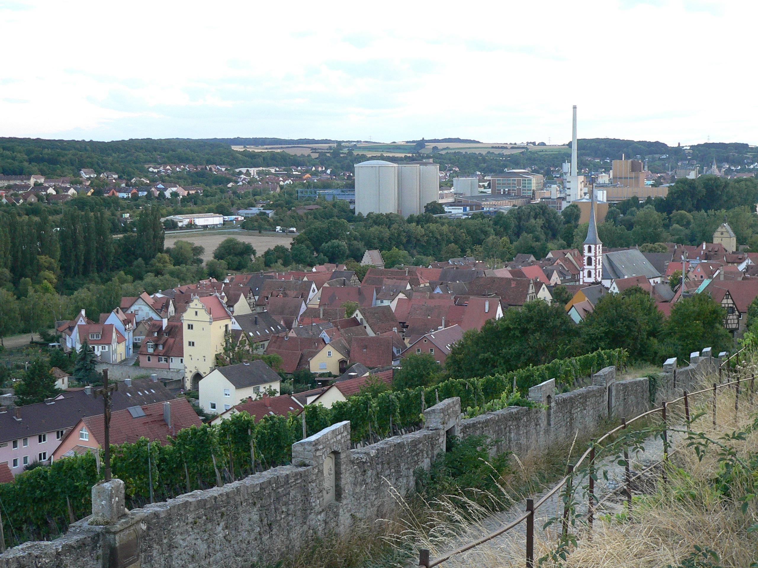 Frickenhausen am Main. | Foto: B. Schneider