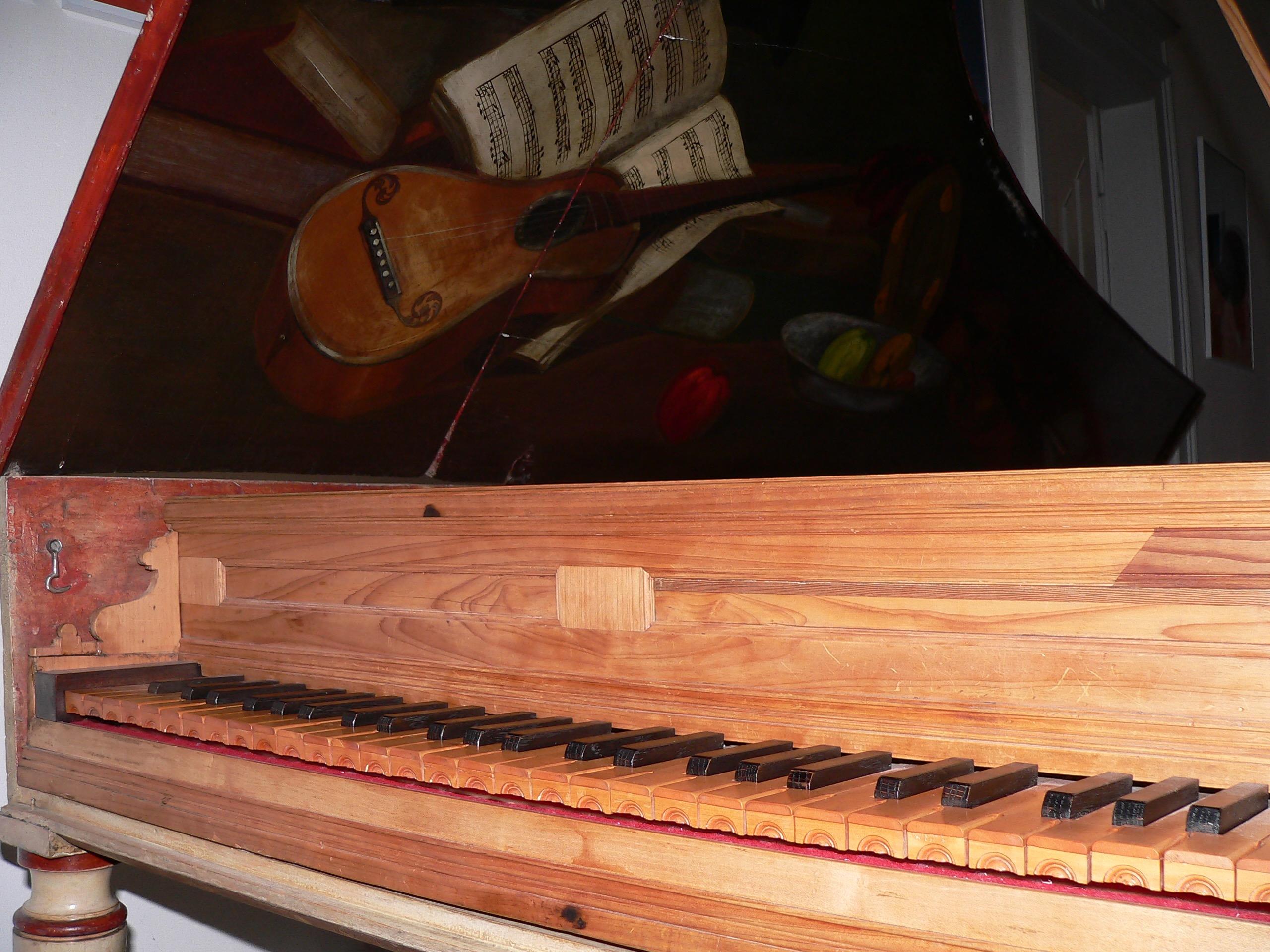 Das älteste Stück der Günther'schen Sammlung: ein Cembalo von Giacomo Ridolfi. | Foto: B. Schneider