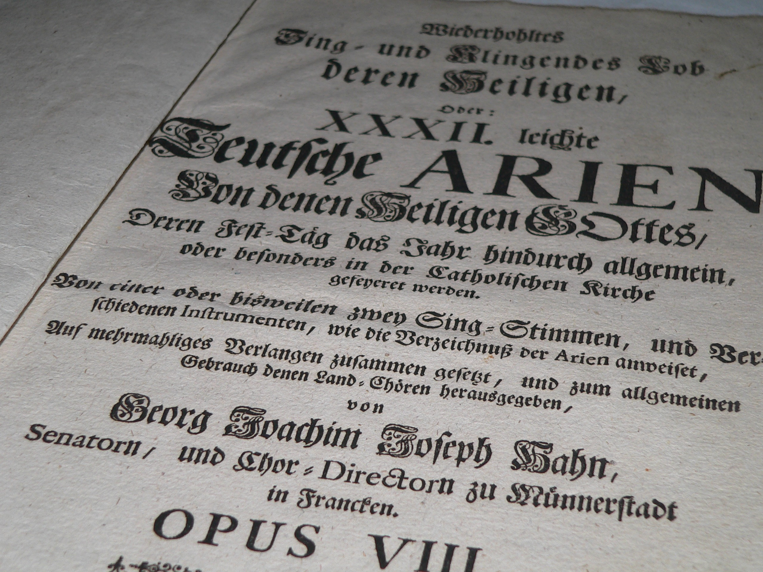 Auch dies sammelt Michael Günther: historische sakrale Musikliteratur. | Foto: B. Schneider