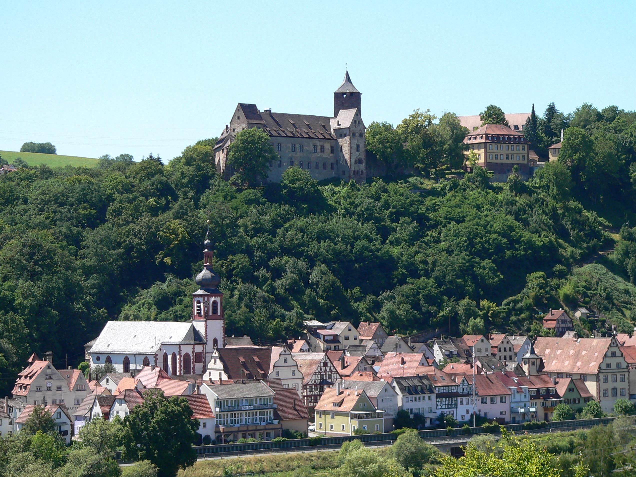 Burg und Stadt Rothenfels | Foto: B. Schneider