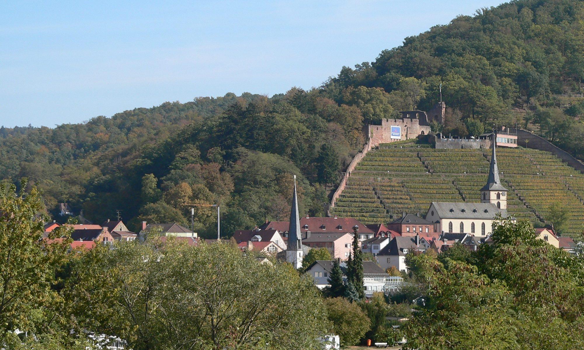 Klingenberg mit der Clingenburg. | Foto: B. Schneider