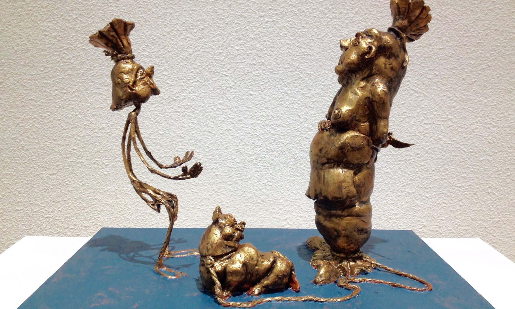 Mopper & Schnüdel in einer Darstellung des Lohrer Künstlers Roland Schaller. | Foto: B. Schneider