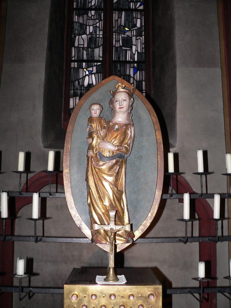 Das Gnadenbild der Maria zum rauen Wind stammt aus der Zeit um 1380. | Foto: B. Schneider