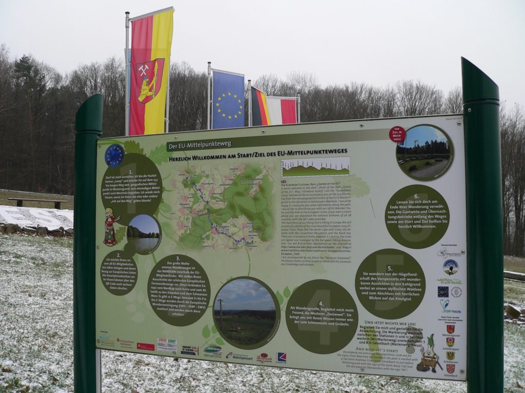 Oberwestern in der Gemeinde Westerngrund wird wohl nicht die letzte Etappe auf dem EU-Mittelpunktweg blieben ... | Foto: B. Schneider