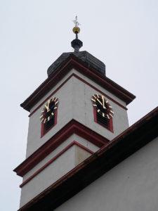 Die Turmuhr und die Motoren des Geläuts mussten instand gesetzt werden. | Foto: B. Schneider