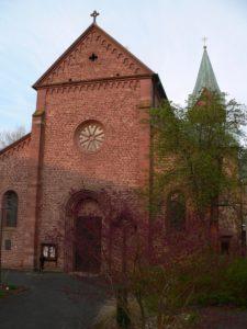 In der Kirche von Neustadt wird eine Stoffreliquie verwahrt, die als Gertraudenmantel bezeichnet wird.   Foto: B. Schneider