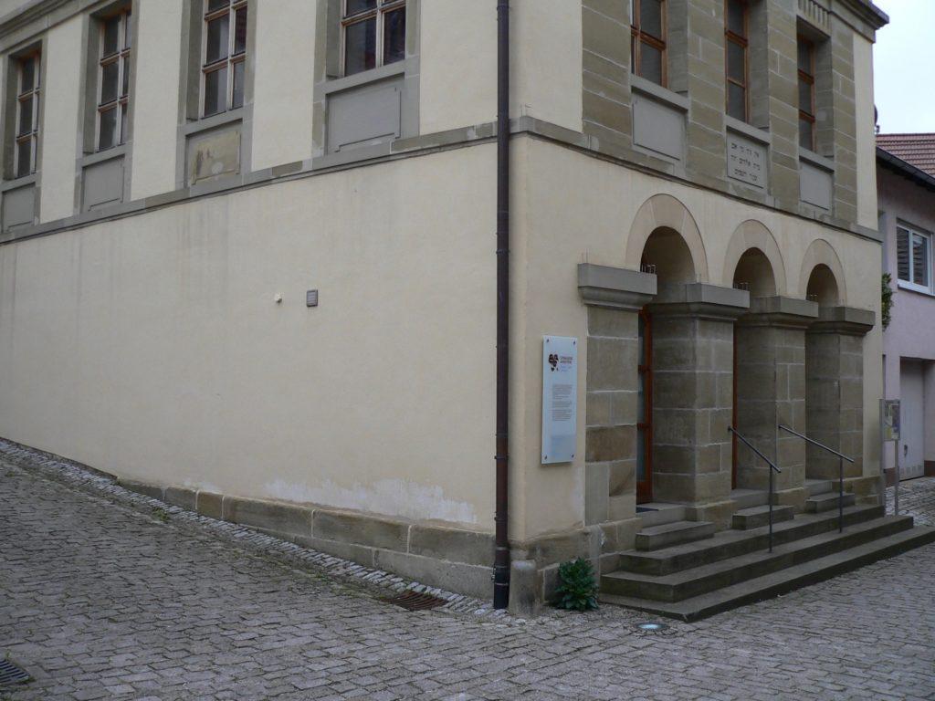 Die ehemalige Synagoge von Arnstein dient heute kulturellen Zwecken. | Foto: B. Schneider
