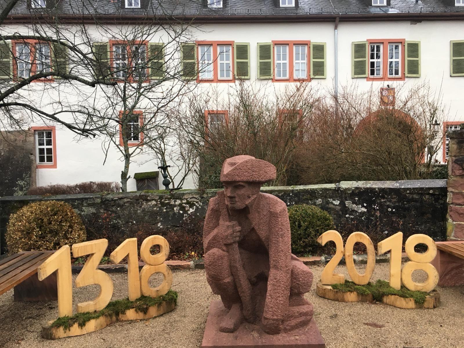 Des Spessarts Erzwilddieb Johann Adam Hasenstab (1716 - 1773) stammte aus Rothenbuch, wo sich das ehemalige Jagdschloss des Fürstbischofs von Mainz befand. | Foto: B. Schneider