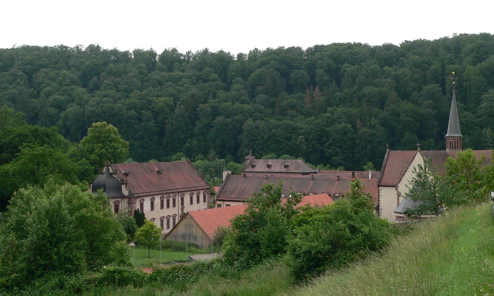 Kloster Bronnbach im tal der Tauber südlich von Wertheim. | Foto: B. Schneider