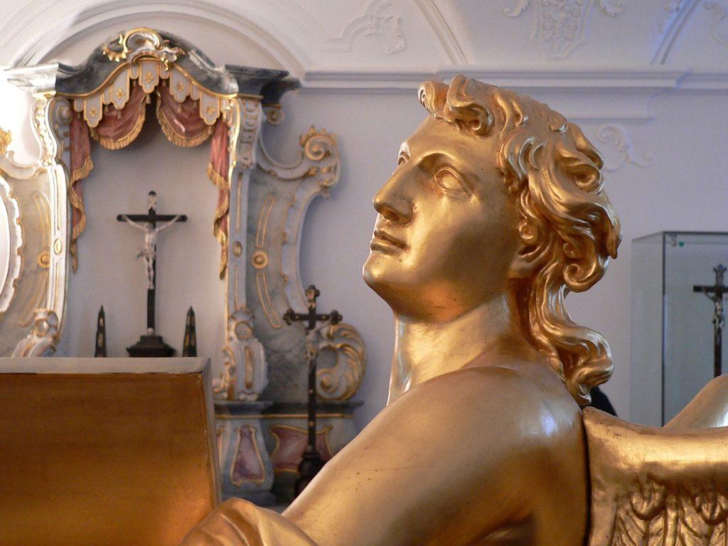 Graziler Barockengel. | Foto: B. Schneider