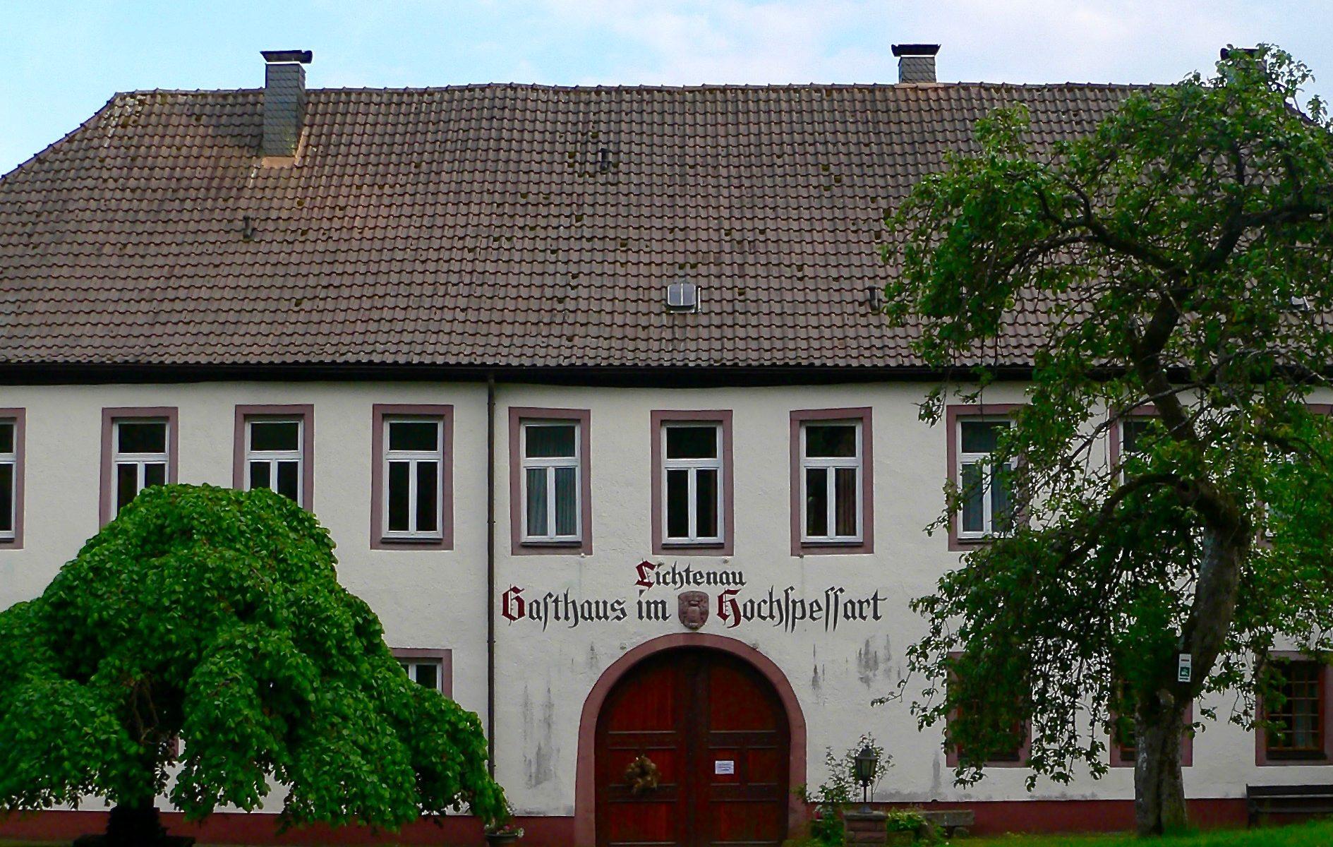 Gasthaus im Hochspessart in der Lichtenau. | Foto: B. Schneider