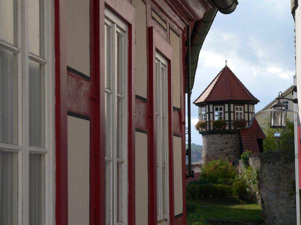 Im Wächterturm lebte bis 1939 eine siebenköpfige Familie. | Foto: B. Schneider