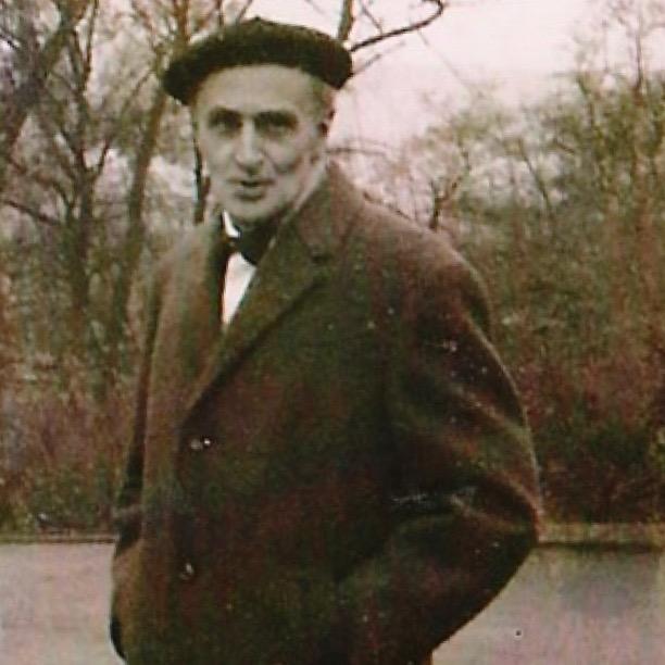 Hermann Amrhein – eine Aufnahme von 1969.