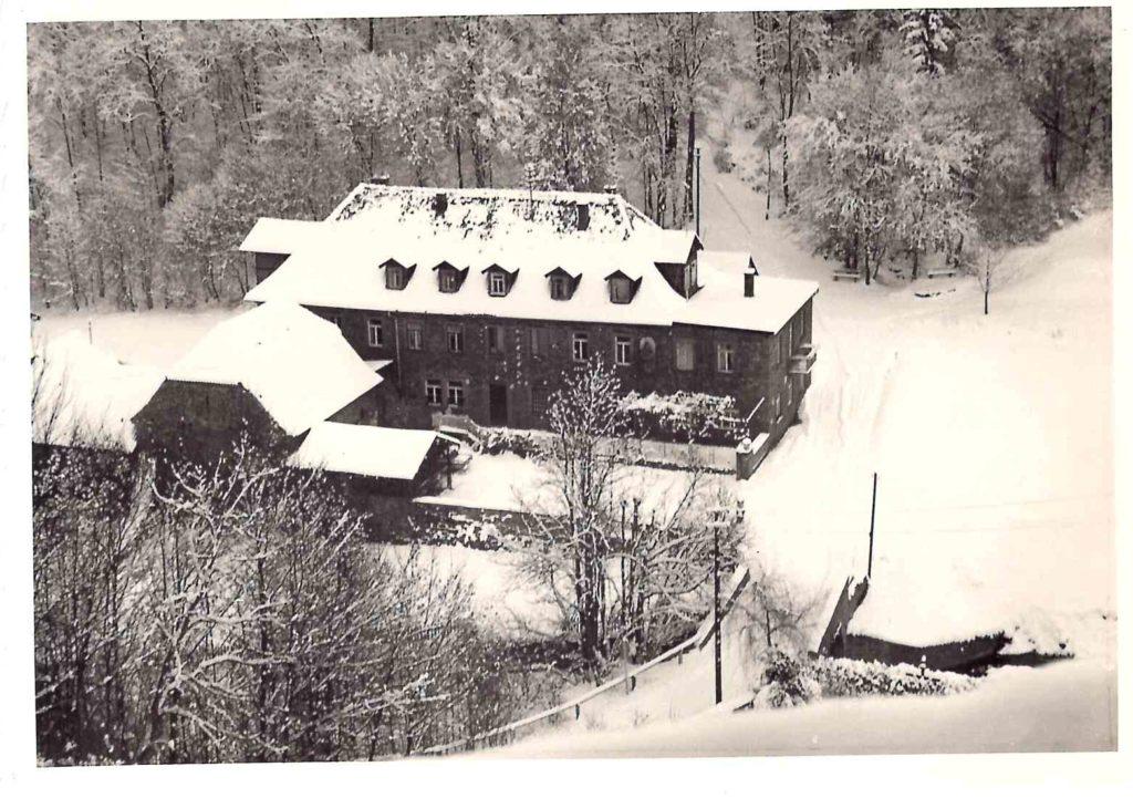 Buchenmühle im schneereichen Winter 1963. | Foto: Paul Brey