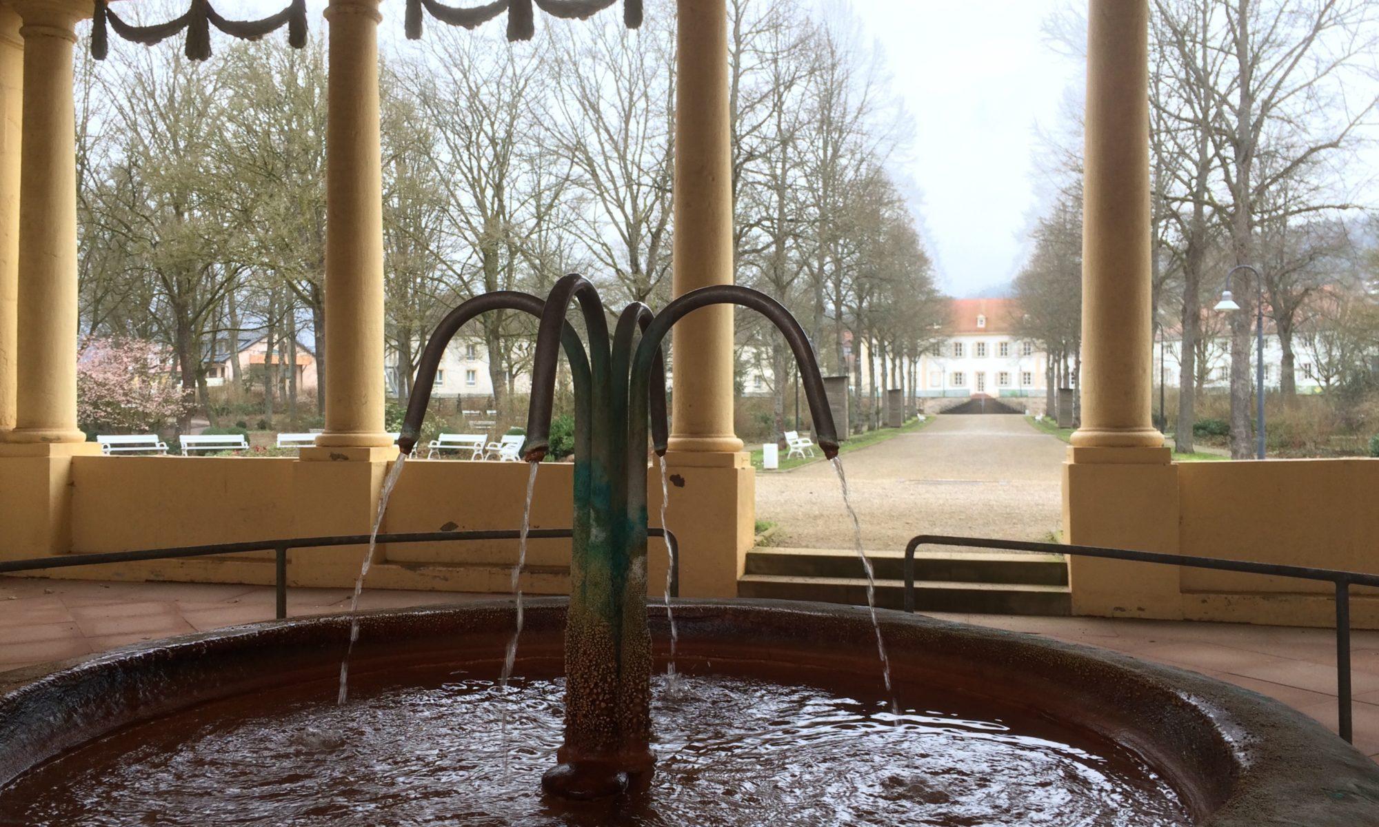 Balthasar-Neumann-Quelle in Bad Bocklet. | Foto: B. Schneider
