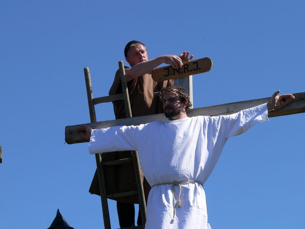 Jesus von Nazareth - König der Juden.
