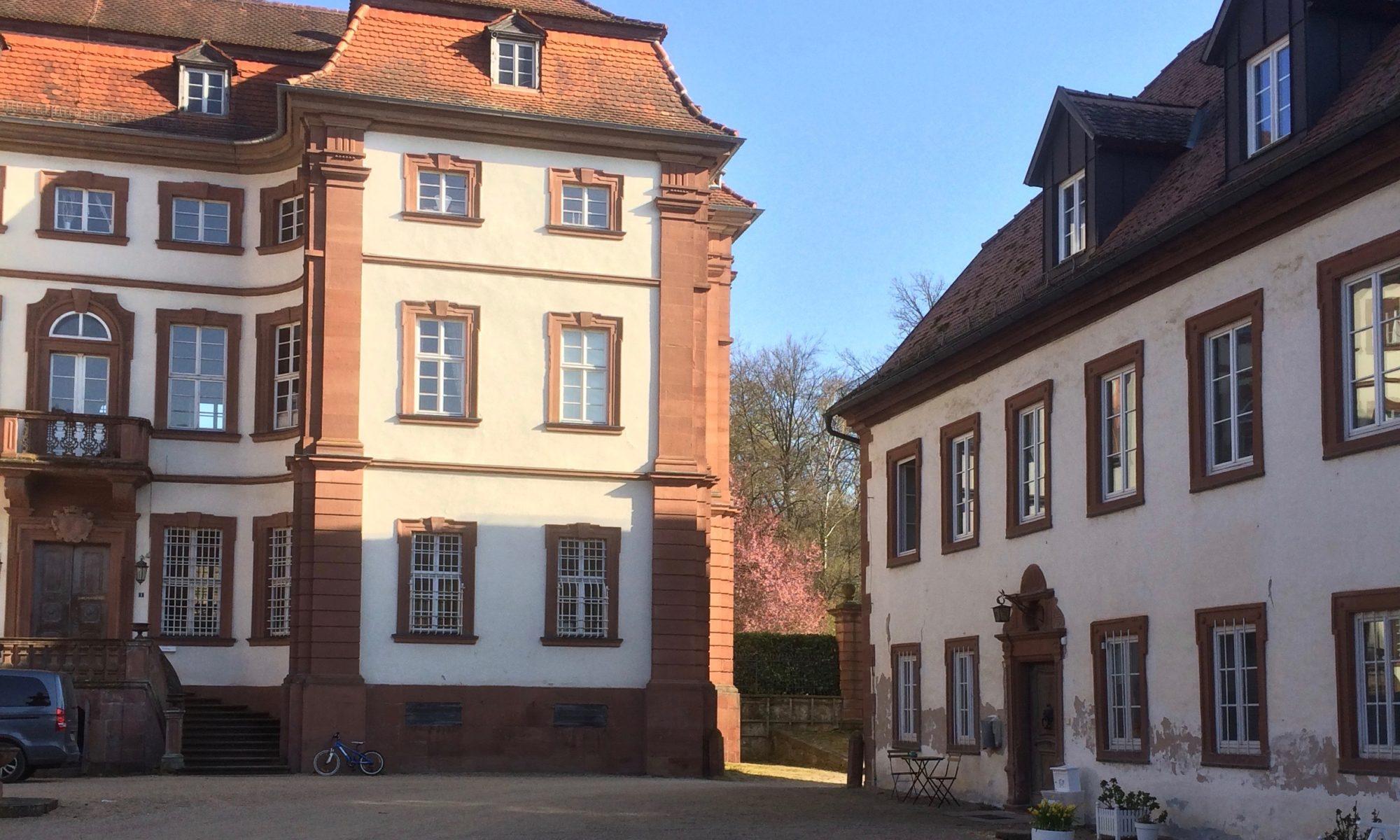 Das Schloss der Familie von Hutten in Steinbach bei Lohr a. Main. | Foto: B. Schneider