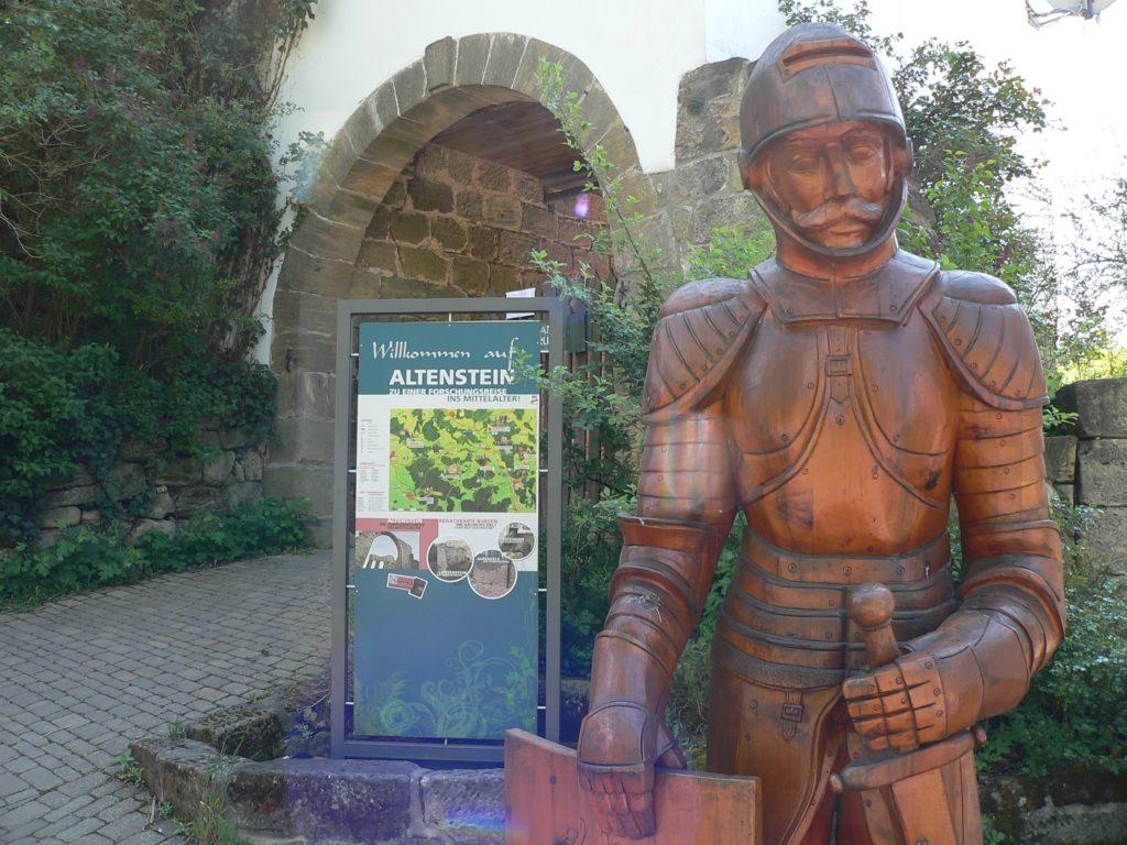 Das Burgeninformationszentrum in Altenstein ist für Jung und Alt gleichermaßen lehrreich. | Foto: B. Schneider