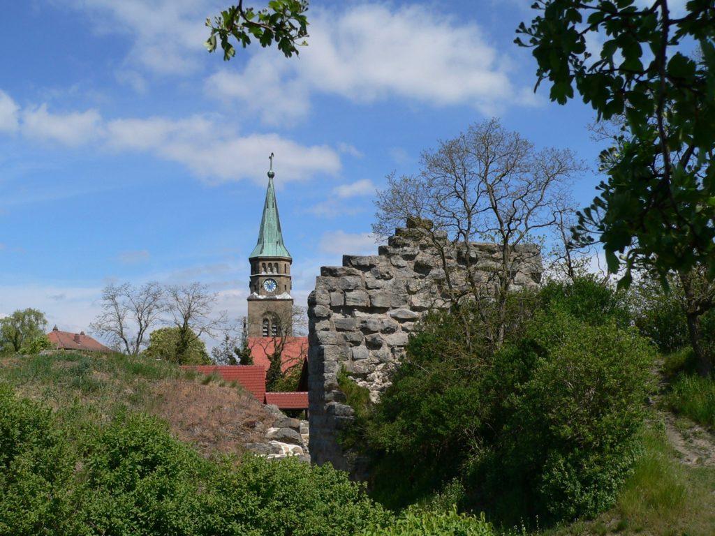 Burg und Dorf Altenstein bekamen des Öfteren die Rivalitäten der Bistümer Würzburg und Bamberg zu spüren. | Foto: B. Schneider