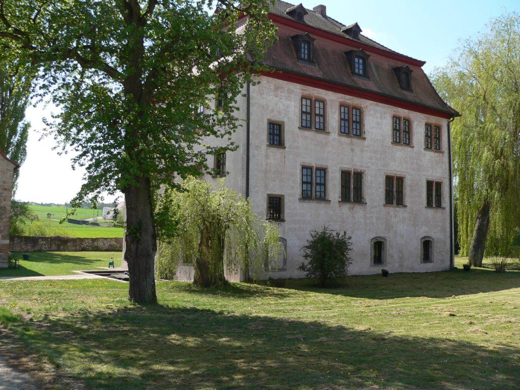 Dietrich Carl von Erthal war der Erbauer des Leuzendorfer Schlosses. | Foto: B. Schneider