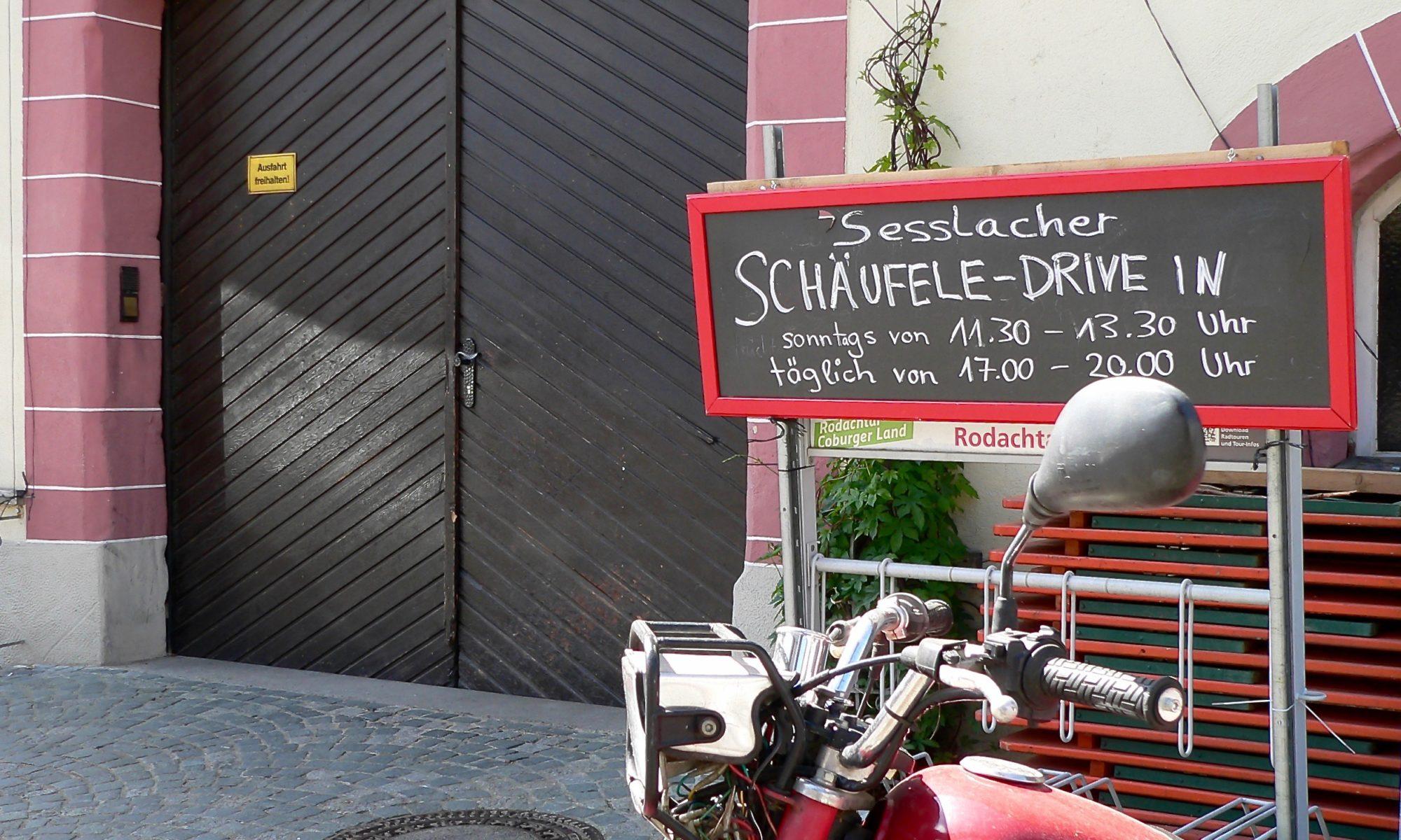 1. Seßlacher Schäufele-Drive-in. | Foto: B. Schneider