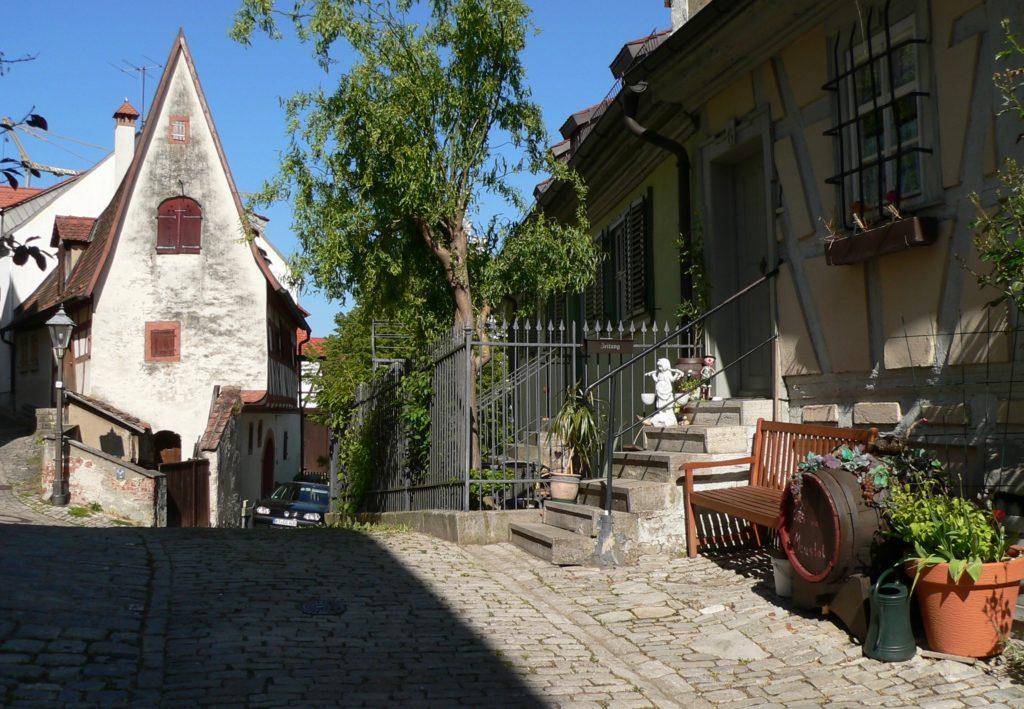 Das Winzerhäusle galt lange als das älteste Gebäude Sulzfelds. | Foto: B. Schneider