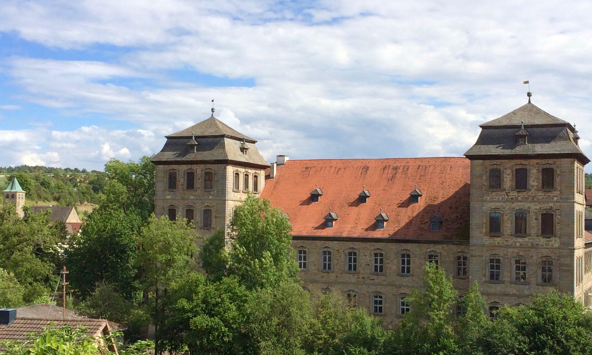 Schloss Burgpreppach wurde nach Plänen der Barockbaumeister Joseph Greising und Balthasar Neumann errichtet. | Foto: B. Schneider
