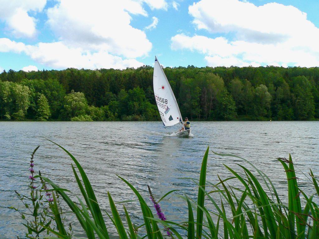 Der Ellertshäuser See – ein Dorado für alle Arten von Wassersport.