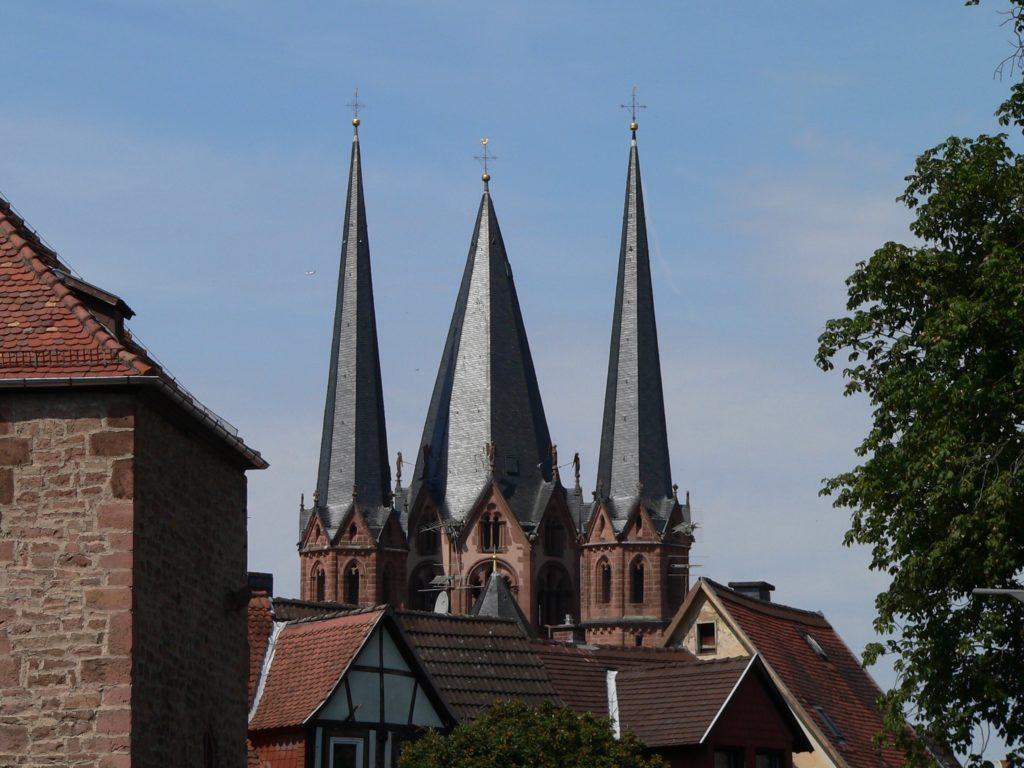 Marienkirche in Gelnhausen. | Foto: B. Schneider