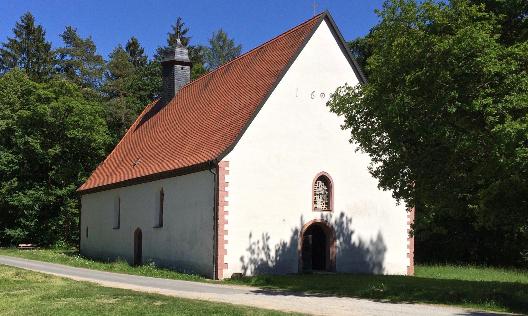 Kreuzkapelle zwischen Frammersbach und Wiesthal. | Foto: B. Schneider