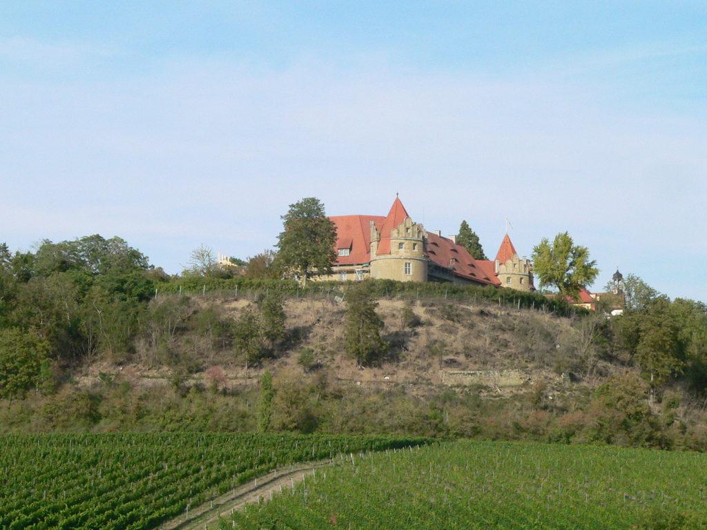 Schloss Frankenberg wird derzeit zu einem Hotel umgebaut.