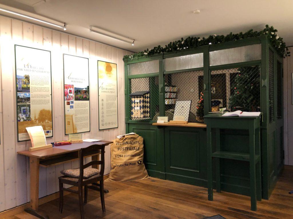 Die Weihnachtspostfiliale in Himmelstadt ist einer königlich-bayerischen Poststelle von 1873 nachempfunden. | Foto: B. Schneider