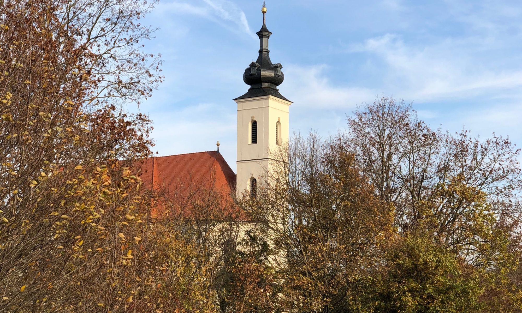 Wallfahrtskirche Maria Limbach. | Foto: B. Schneider