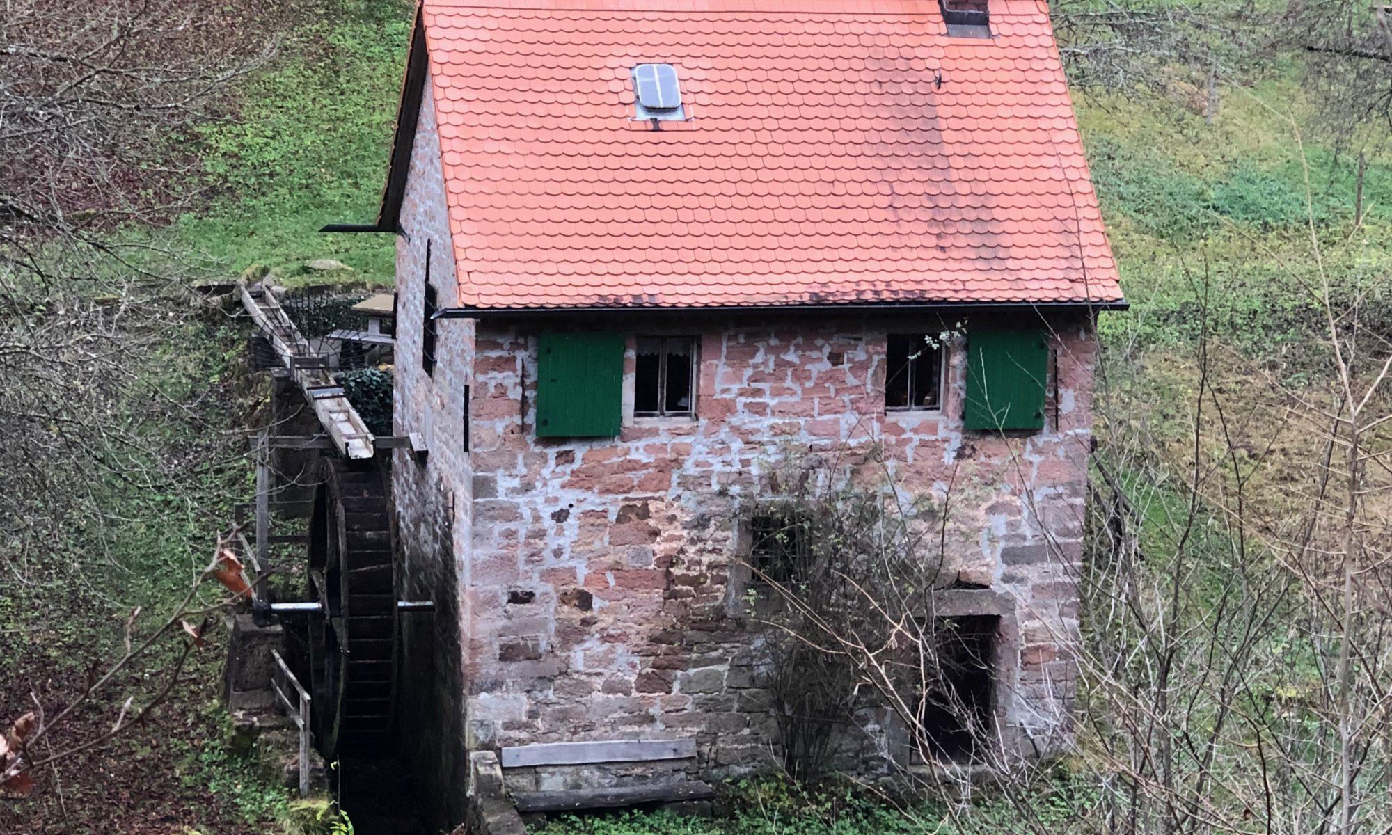Die Untere Mühle in Rothenbuch gehört der Gemeinde und wird von der Ortsgruppe des Bunds Naturschutz unterhalten. | Foto: B. Schneider