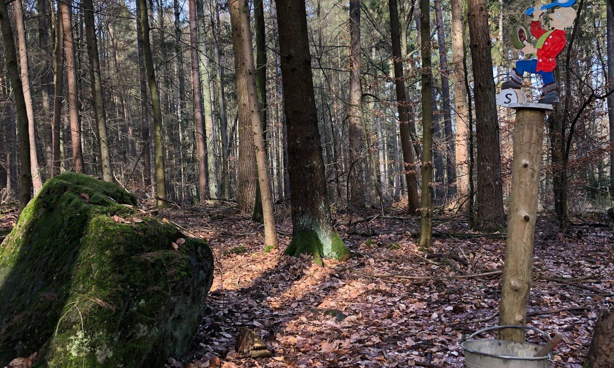 Der Hoimo-Stein bei Hausen. | Foto: B. Schneider