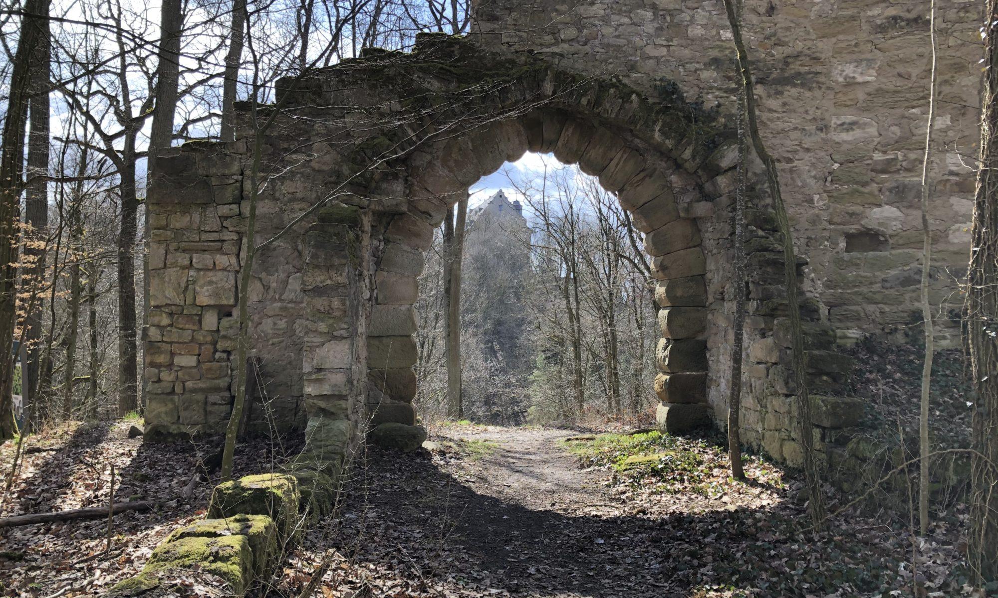"""Von der """"Alten Burg"""" aus bestand früher ein freier Blick zur Bettenburg."""