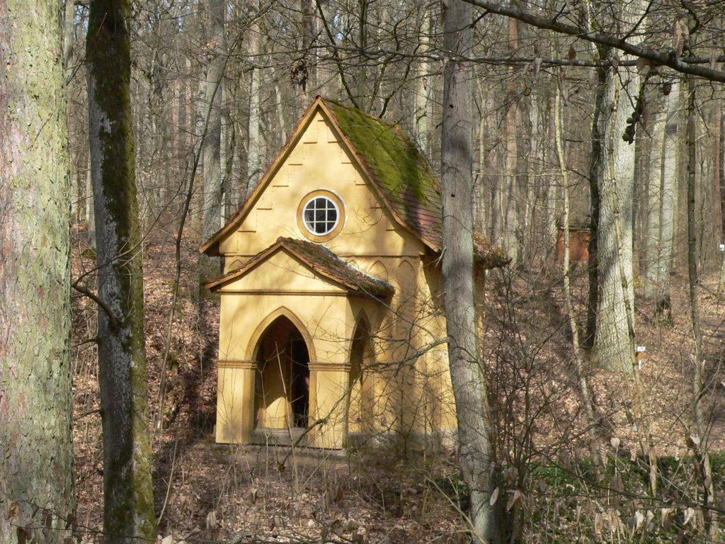 """Die """"Totenkapelle"""" war nie nur Zierrat, sondern ein Ort des Gedenkens an Familie und enge Freunde."""
