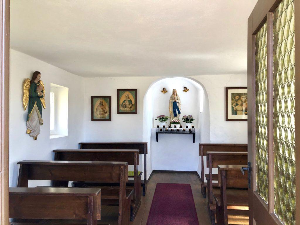 """Der Gottesmutter Maria ist das """"Käppela"""" geweiht."""