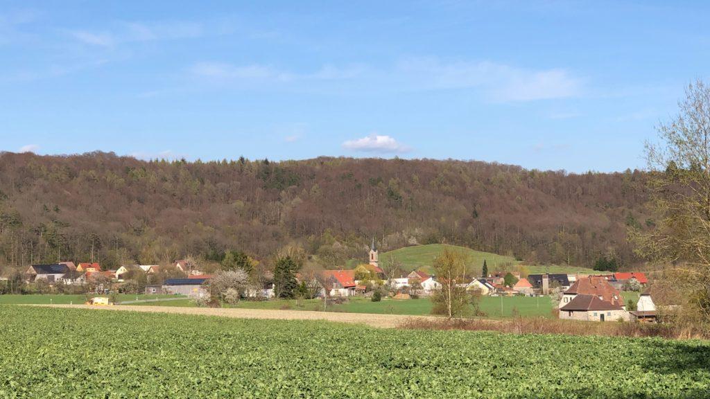 Wachsender Bedarf an verschiedensten Gläsern im Fürstbistum Würzburg führte vor 315 Jahren zur Gründung Fabrikschleichachs.Heute zählt der Ort rund 120 Einwohner.