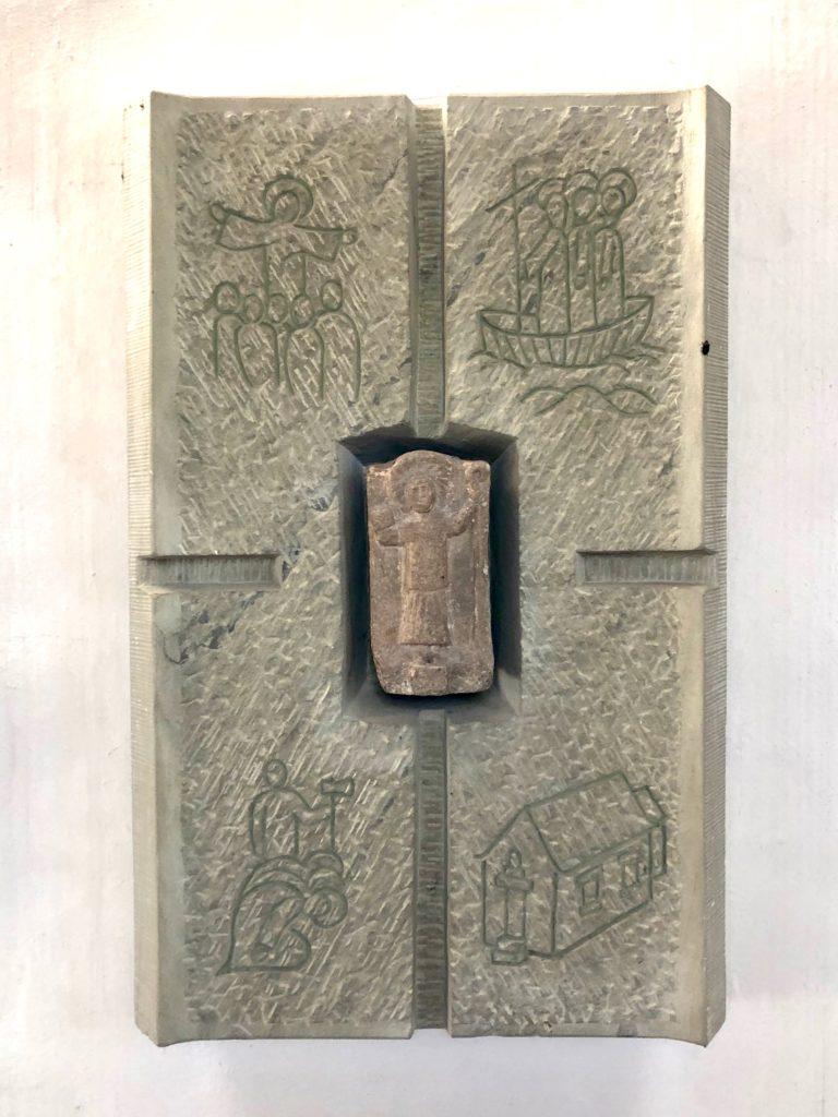 Um das Jahr 1000 soll diese Darstellung des heiligen Kilian geschaffen worden sein.
